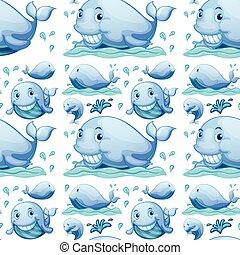 Seamless whale