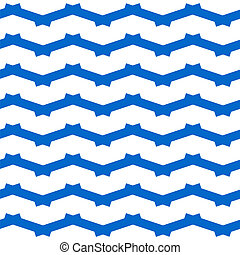 zig zag pattern - Seamless white background with zig zag...
