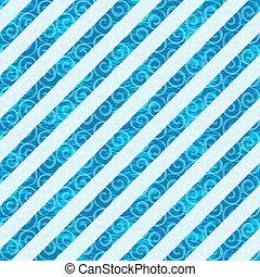 Seamless white-blue diagonal pattern
