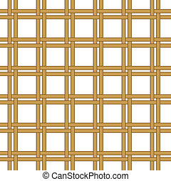 seamless wicker woven texture background