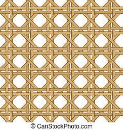 seamless wicker woven texture background - seamless straw, ...