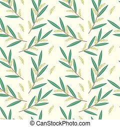Seamless willow pattern