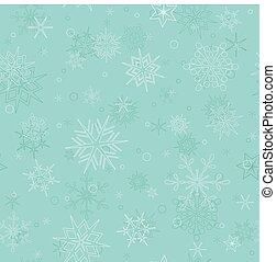 seamless winter vector pattern with snowflakes