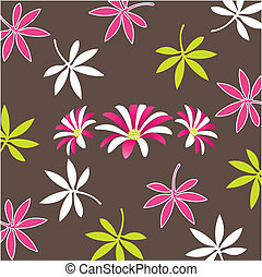 Seamless with floral pattern