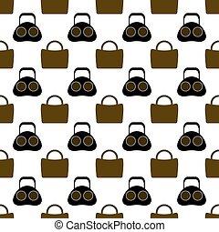 Seamless Womens Handbag Pattern