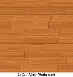 Seamless Wood Floor Vector