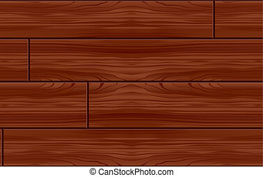 Seamless Wood Pattern Tile (Vector)