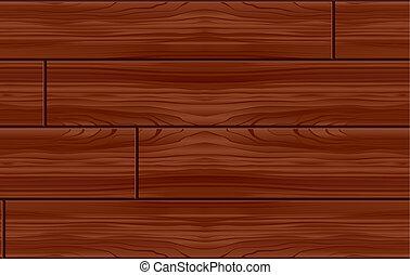 Seamless Wood Pattern Tile (Vector)