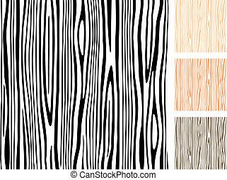 Seamless Wood Texture - Editable wood pattern.