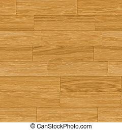 Seamless Wooden Parquet Flooring