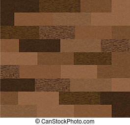 Seamless wooden texture. Vector