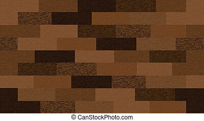 Seamless wooden texture. Vector