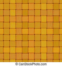 seamless woven wicker rail fence texture
