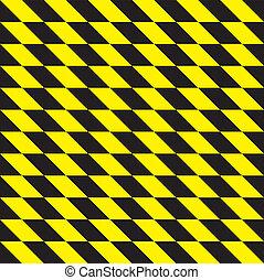 seamless yellow and black rhombus