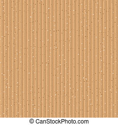 Seamless yellow cardboard vector texture.