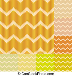 seamless yellow chevron pattern