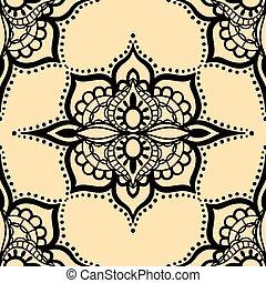 seamless yellow pattern.