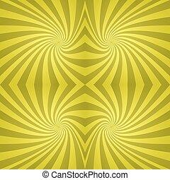 Seamless yellow spiral background