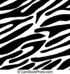 seamless, zebra