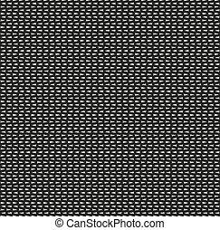 Seamless zig zag black pattern on white background