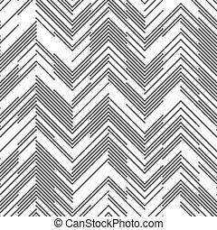Seamless Zig Zag Pattern - Seamless Chaotic Zig Zag Pattern....