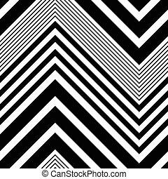 seamless, zigzag, patrón