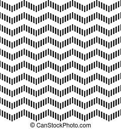 Seamless zigzag pattern. - Seamless geometric zigzag...