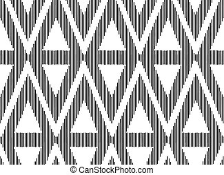 Seamlles pattern triangle