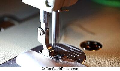 seamstress, working, close-up
