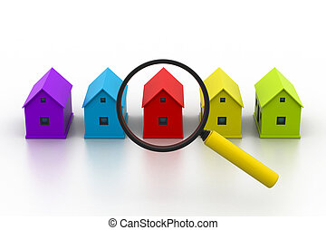 Search a new house.