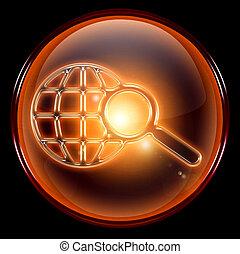 Search and magnifier icon. - Search and magnifier icon,...