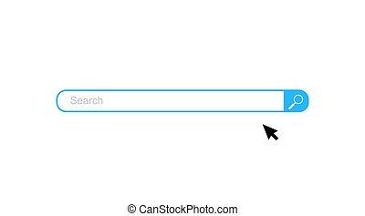 Search bar vector