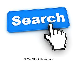 Search Button with Hand Cursor