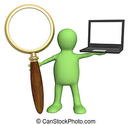 Search - Conceptual image - information search in the...