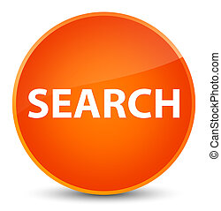 Search elegant orange round button