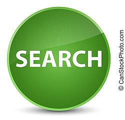 Search elegant soft green round button