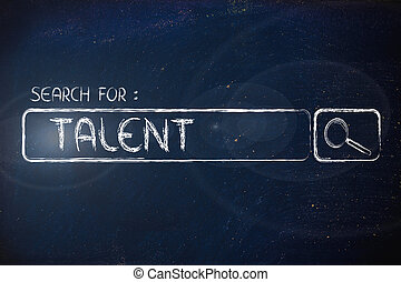 search engine bar, search for talent - search for talent, ...
