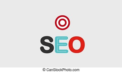 search engine optimization animation hd