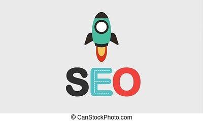search engine optimization animation hd