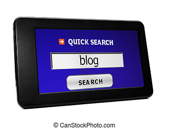 Search for blog