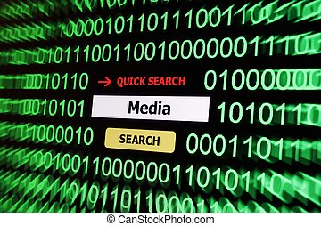 Search for media
