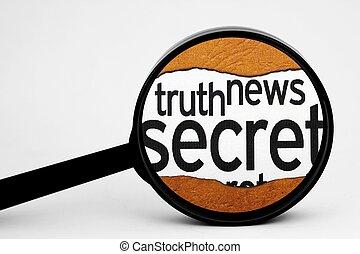 Search for secret