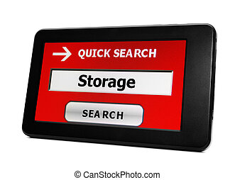 Search for storage