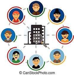 search for talent candidates vector
