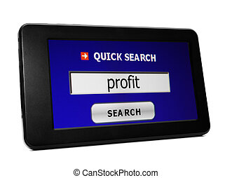 Search for web profit