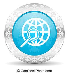 search icon, christmas button