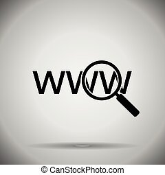 search in web icon