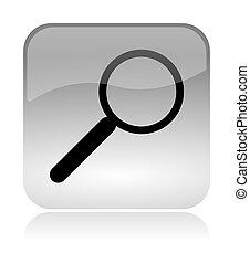 Search lens web interface icon