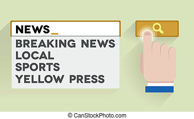 search news