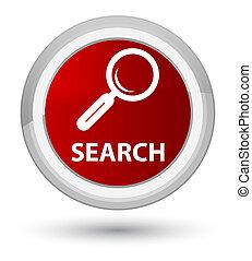 Search prime red round button